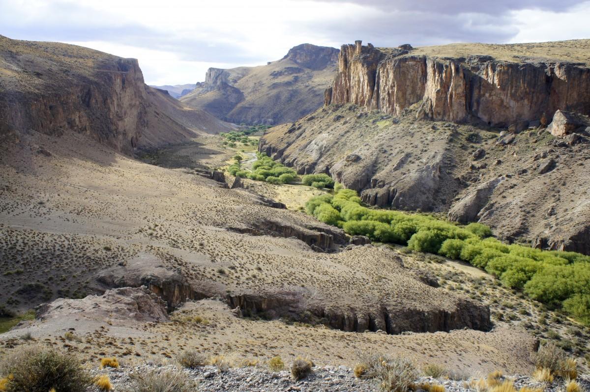 Zdjęcia: Cueva de los Manos, Santa Cruz , Cueva de las Manos, ARGENTYNA