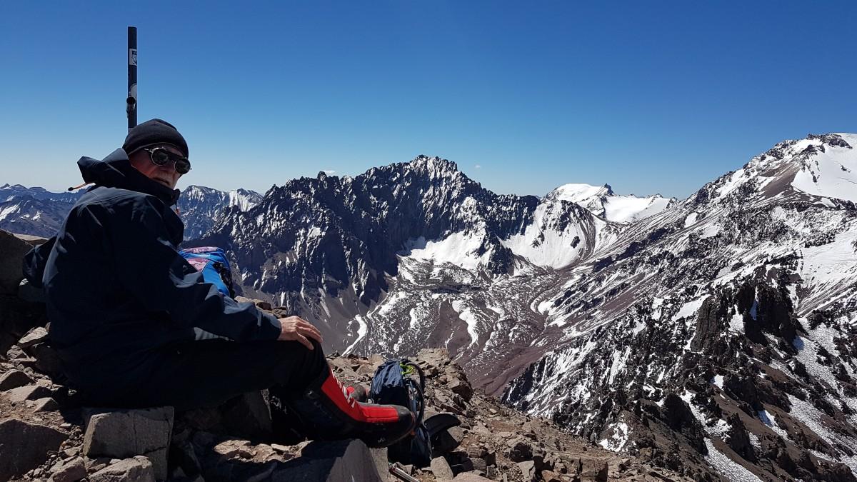 Zdjęcia: Leży w Andach Południowych, w Kordylierze Głównej, Departamento Las Heras, Aklimatyzacja Cerro de Bonnete, ok. 5050m., ARGENTYNA