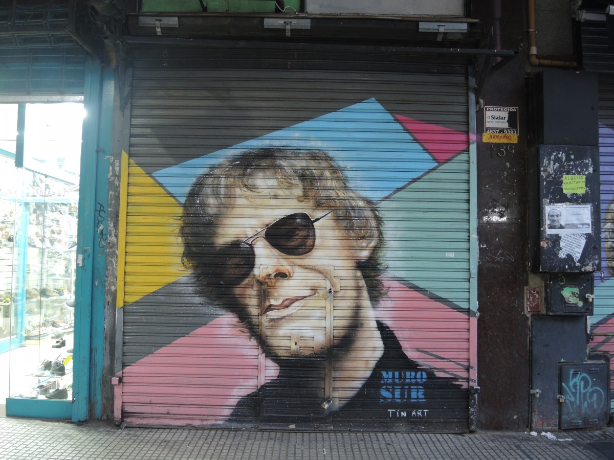 Zdjęcia: Stolica, Buenos Aires, Graffiti, ARGENTYNA