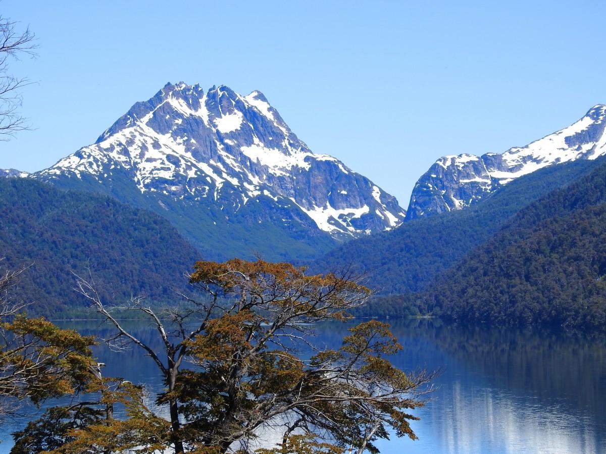 Zdjęcia: Droga nr 40, Neuquen, Jezioro Vilarino, ARGENTYNA