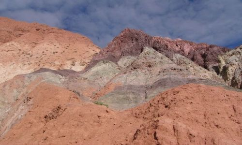 Zdjecie ARGENTYNA / Jujuy / Purmamarca / Wzgórze Siete Colores