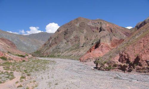 Zdjecie ARGENTYNA / Jujuy / Okolice Iruya / Dolina