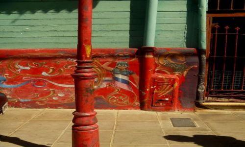 Zdjęcie ARGENTYNA / Buenos Aires / La Boca / Mural w La Boca