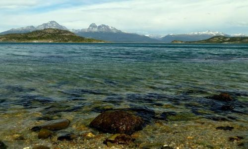 Zdjecie ARGENTYNA / Ziemia Ognista (Tierra del Fuego) / Ushuaia / Zatoka Lapataia