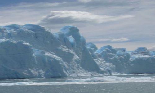 Zdjecie ARGENTYNA / Patagonia / Los Glaciares / Błękity
