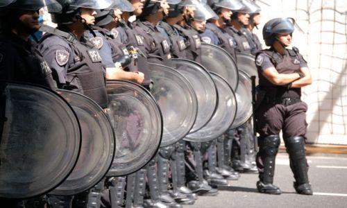 Zdjęcie ARGENTYNA / Microcentrum / Buenos Aires / Demonstracja