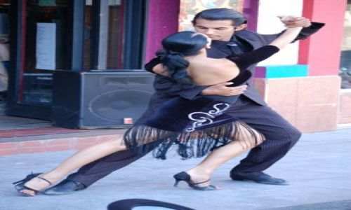 Zdjęcie ARGENTYNA / Dzielnica La Boca / Buenos Aires / Tango