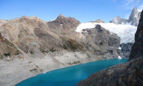 ARGENTYNA / Santa Cruz (Patagonia) / Los Glaciares (El Chalten) / Kolory