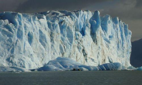 Zdjecie ARGENTYNA / Santa Cruz (Patagonia) / Los Glaciares (El Calafate) / Kolory lodu
