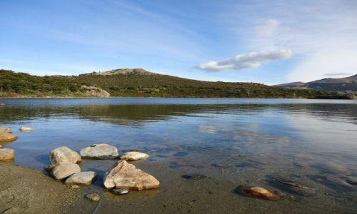 Zdjecie ARGENTYNA / Santa Cruz (Patagonia) / Los Glaciares (El Chalten) / Lago Capri