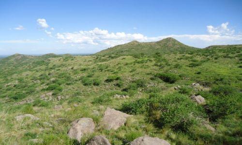 Zdjecie ARGENTYNA / Cordoba / Droga Santa Catalina - Cosquin / Krajobraz Sierry