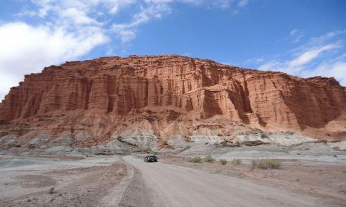 ARGENTYNA / San Juan / Park Narodowy Ischigualasto / Zwiedzanie doliny