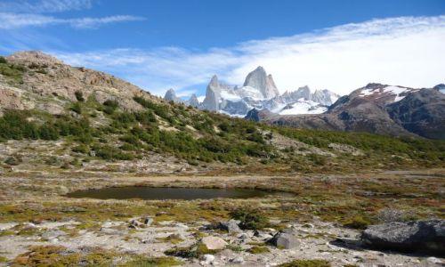 Zdjecie ARGENTYNA / Santa Cruz (Patagonia) / Park Narodowy Los Glaciares (cz. północna) / KONKURS - Z wid
