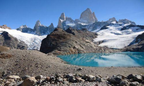 Zdjecie ARGENTYNA / Santa Cruz (Patagonia) / Los Glaciares (El Chalten) / Fitz Roy raz je