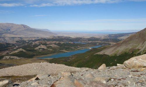 ARGENTYNA / Santa Cruz (Patagonia) / Los Glaciares (El Chalten) / Panorama ze szlaku