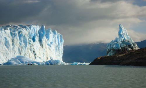 Zdjecie ARGENTYNA / Santa Cruz (Patagonia) / Park Narodowy Los Glaciares (cz. południowa) / Lodowiec (II)