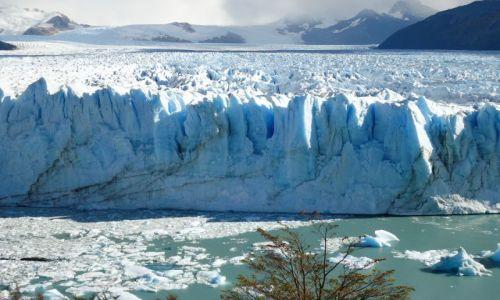 Zdjecie ARGENTYNA / Santa Cruz (Patagonia) / Park Narodowy Los Glaciares (cz. południowa) / Fragment lodowca