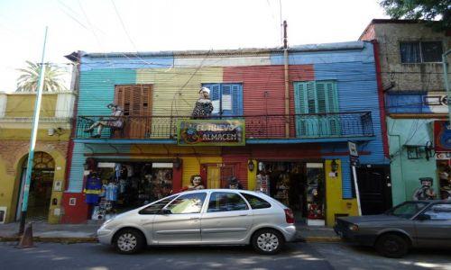 Zdjęcie ARGENTYNA / Buenos Aires / Dzielnica La Boca / La Boca