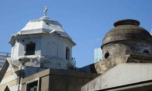 Zdjecie ARGENTYNA / Buenos Aires / Recoleta / Na najsłynniejszym cmentarzu w Argentynie