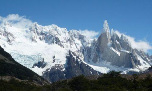 Zdjecie ARGENTYNA / El Chalten / El Chalten / Krzyk Kamienia