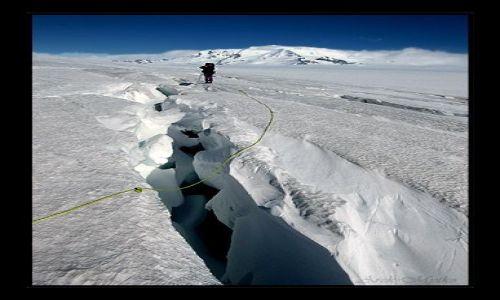 Zdjęcie ARGENTYNA / patagonia / patagonia / gdzies na lodowcu