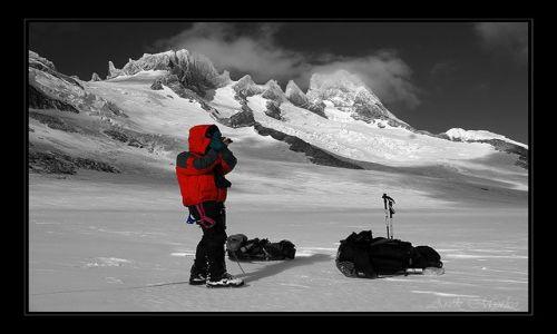 Zdjęcie ARGENTYNA / patagonia / patagonia / gdzies na lodowcu 2