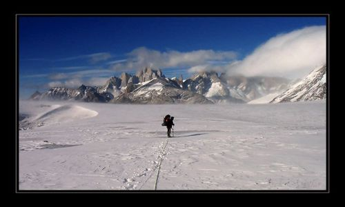 ARGENTYNA / patagonia / patagonia / gdzies na lodowcu 4
