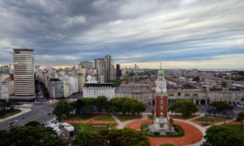 Zdjecie ARGENTYNA / Buenos Aires / Buenos Aires / widok na miasto