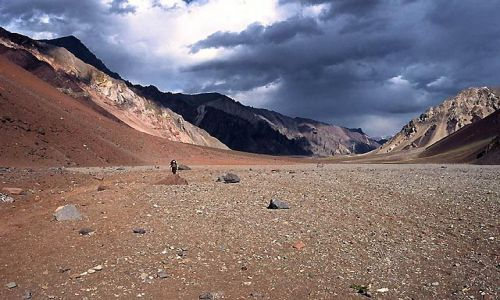 Zdjecie ARGENTYNA / Andy / Wyprawa Aconcagua / Dolina horcones....