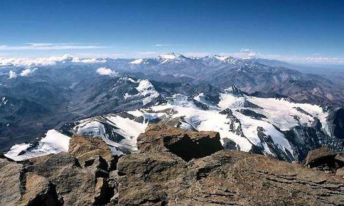 Zdjęcie ARGENTYNA / Andy / Wyprawa Aconcagua / Na szczycie ....