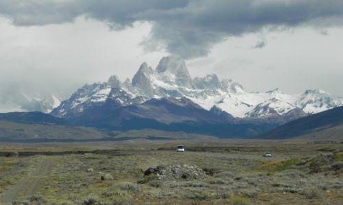 Zdjecie ARGENTYNA / Patagonia / Okolice El Chalten / Fitz Roy
