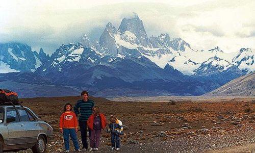Zdjecie ARGENTYNA / Patagonia / droga z Chalten do Tres Lagos / powrot spod Fitz Roya