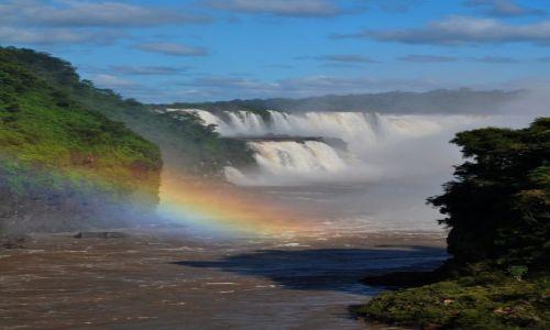 Zdjecie ARGENTYNA / Iguazu / Puerto Iguazu / Tęcza