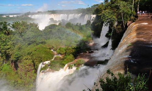 Zdjecie ARGENTYNA / Iguazu / Puerto Iguazu / Wodospad