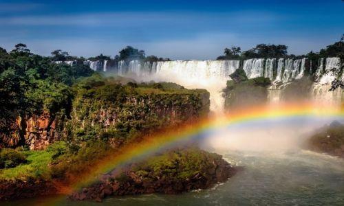 Zdjecie ARGENTYNA / Cataratas del Iguazu / Iguazu / RAINBOW WORLD 2