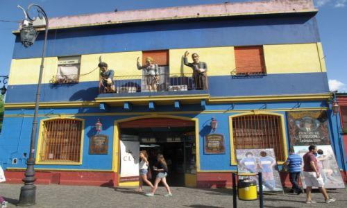 Zdjecie ARGENTYNA / Dzielnica Buenos Aires / Dzielnica Buenos Aires / Kolorowe domy w La Bocca