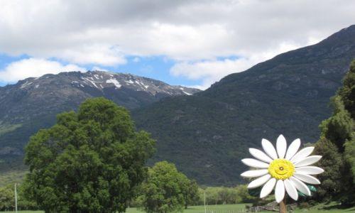 Zdjecie ARGENTYNA / Granica Argentyny/Chile / Granica Argentyny/Chile / Widok na przedgórze Andów