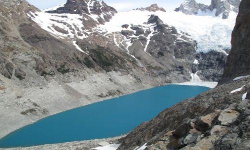 Zdjecie ARGENTYNA / Patagonia / Patagonia / Krystaliczne jezioro- Fitz Roy