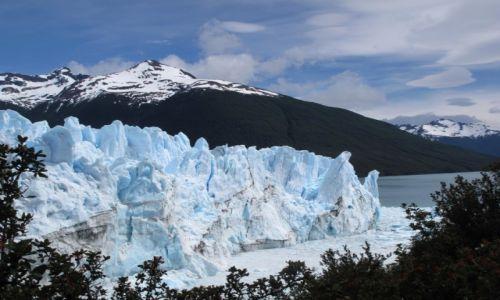 ARGENTYNA / Patagonia / Patagonia / Lodowiec Perioto Moreno w całej okazałości