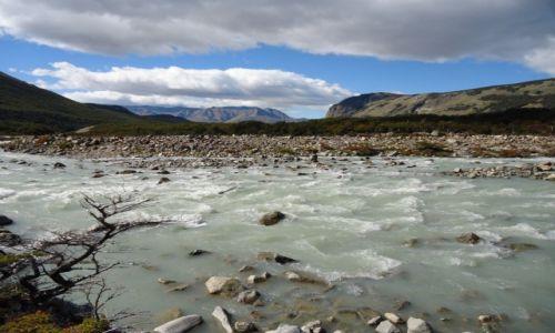 Zdjęcie ARGENTYNA / Santa Cruz (Patagonia) / PN Los Glaciares (cz. północna) / Patagoński krajobraz