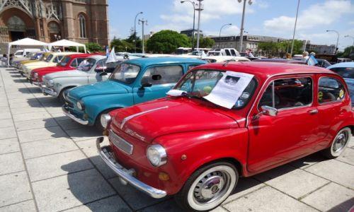 Zdjecie ARGENTYNA / Buenos Aires / La Plata / Parada starych samochodów