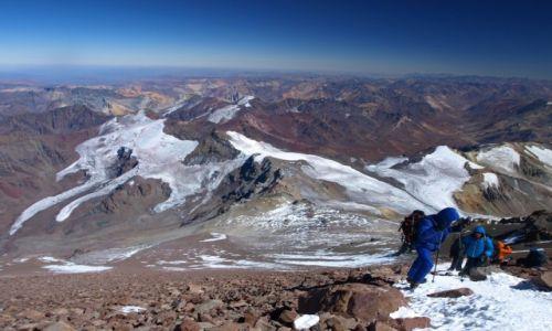 ARGENTYNA / Andz / Aconcagua / W drodze na szczyt