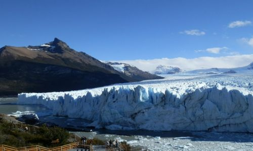 Zdjecie ARGENTYNA / Patagonia / Lago Argentina / Perito Moreno