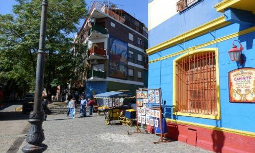 Zdjecie ARGENTYNA / Stolica / La Bocca / Kolorowa dzielnica
