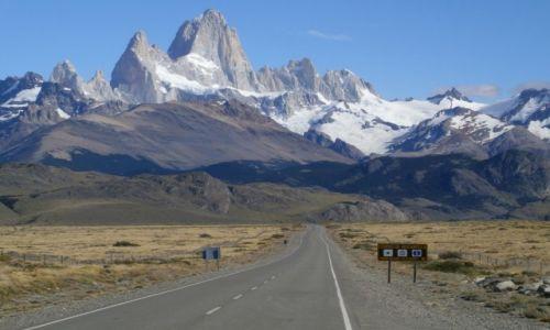 Zdjecie ARGENTYNA / Santa Cruz / el Chalten / Droga do el Chalten