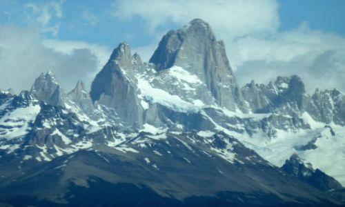 Zdjęcie ARGENTYNA / Patagonia / Park  Los Glaziares / spojrzenie na Fitz Roya
