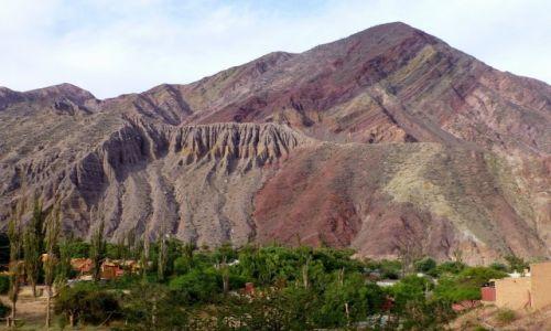 ARGENTYNA / Jujuj / Purmamarca / malowane góry