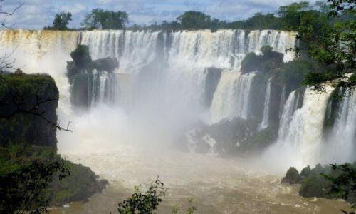 Zdjęcie ARGENTYNA / okolice Puerto Iguassu / Wodospady Iguassu / od  strony argentyńskiej