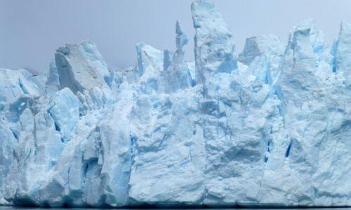 Zdjecie ARGENTYNA / Patagonia / Lago Argentino /  lodowiec Spega