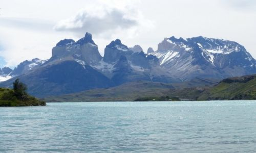 Zdjecie ARGENTYNA / Patagonia / Lago Pehoe / nad  Lago Pehoe